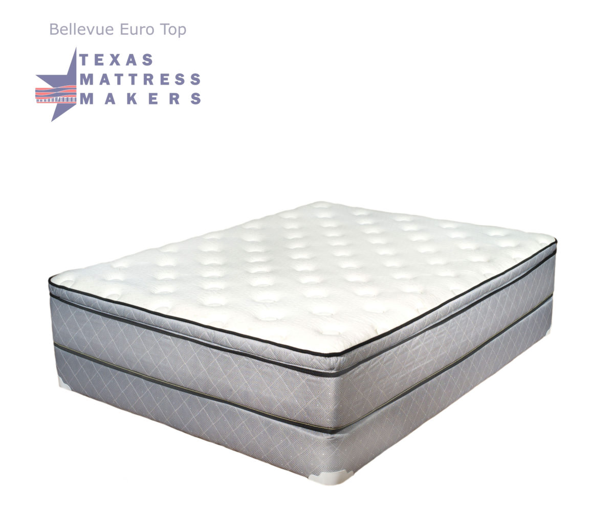 Bellevue Euro Top Mattress Innerspring Texas Mattress Makers